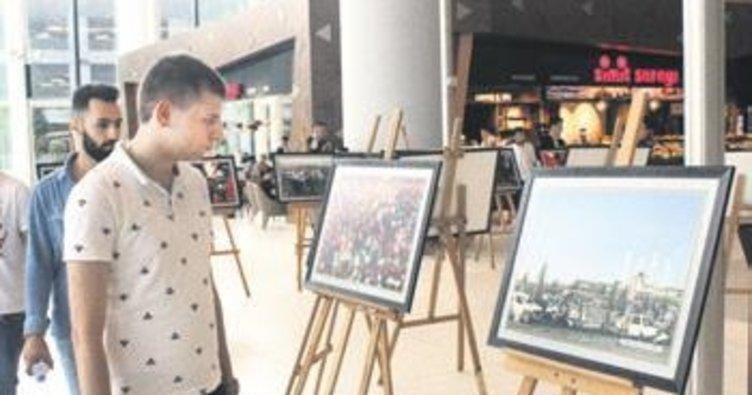 Destanın fotoğrafları Havalimanında