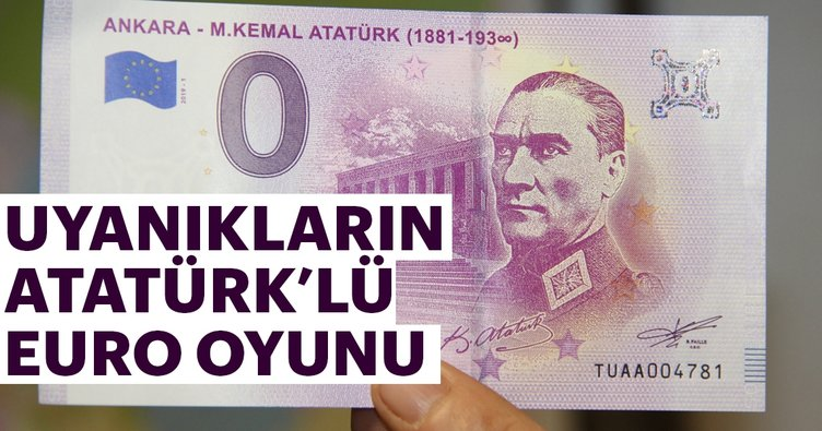 Uyanıkların Atatürk'lü euro oyunu