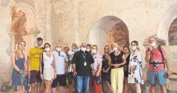 Tarihe ziyaretçi akını sürüyor