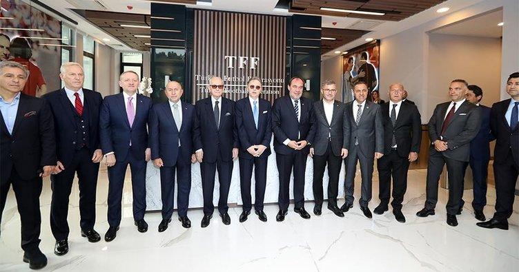 UEFA'nınkılıcı TFF'de