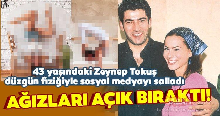 Deli Yürek ile yıldızı parlayan Zeynep Tokuş son hali ile hayran bıraktı! 43 yaşındaki Zeynep Tokuş sosyal medyayı salladı...