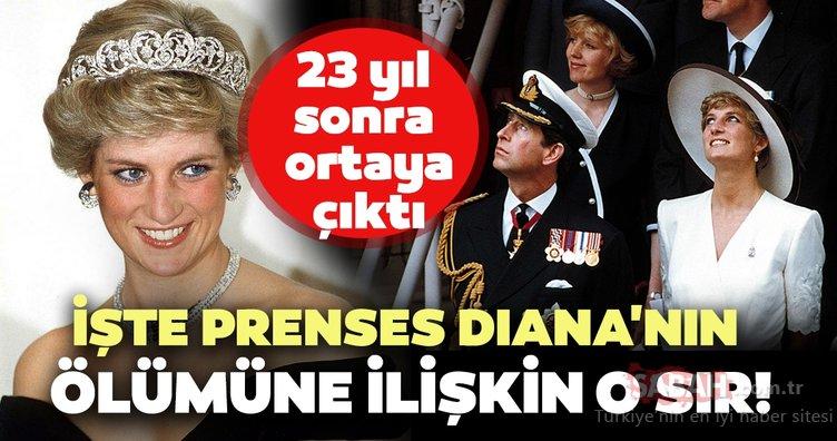 Tam 23 yıl sonra ortaya çıktı! İşte Prenses Diana'nın ölümüne ilişkin o sır...