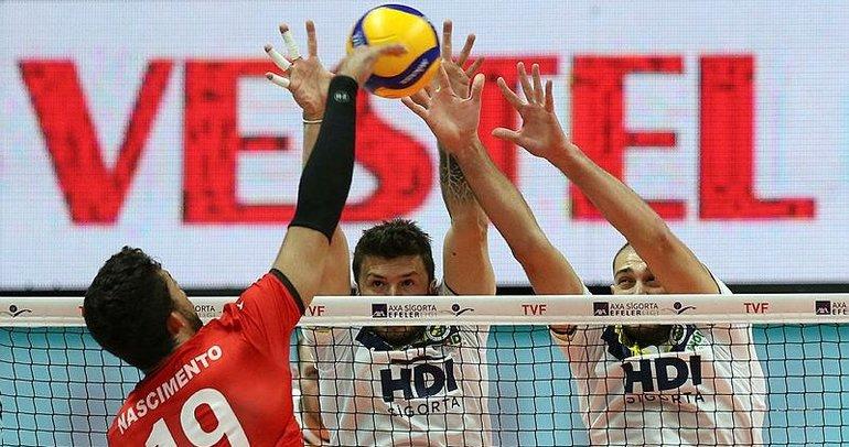 Fenerbahçe 5 sette