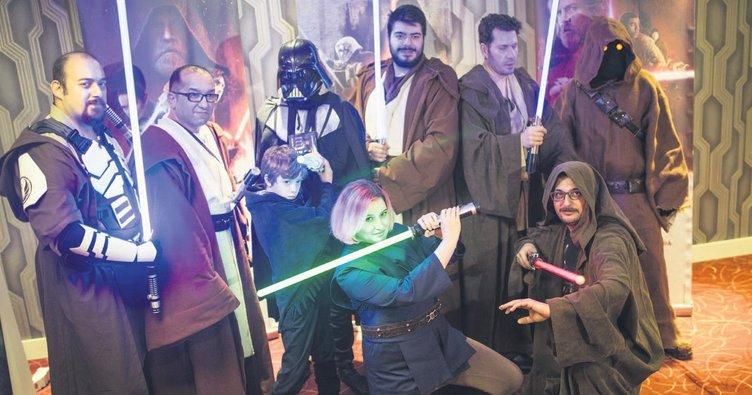 Güç bizimle Jedi'lar!