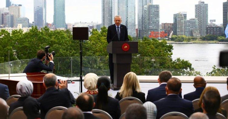 Son dakika: Başkan Erdoğan, Yeni Türkevi Binası'nın açılış töreninde konuştu: Türkiye'nin artan gücünü yansıtan bir baş yapıt