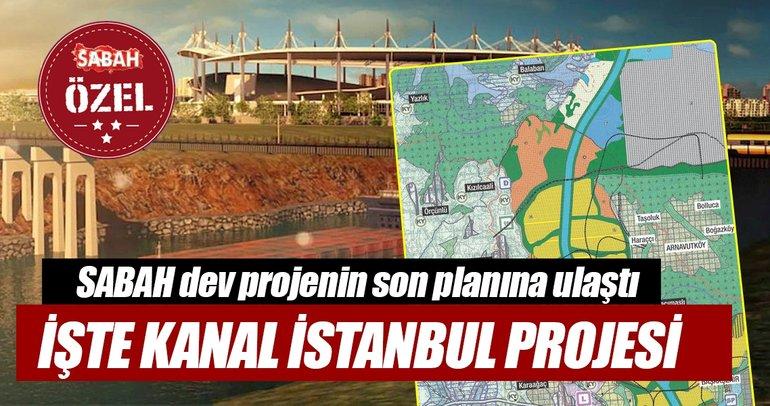 İşte Kanal İstanbul projesi