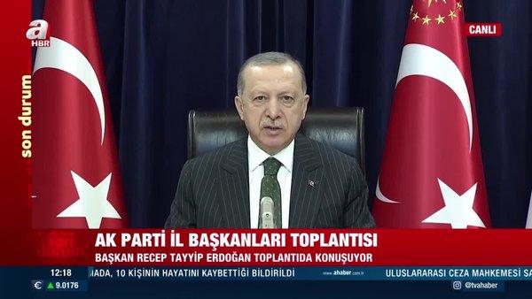 Cumhurbaşkanı Erdoğan'dan  AK PartiGenişletilmiş İl Başkanları Toplantısı'nda önemli açıklamalar | Video