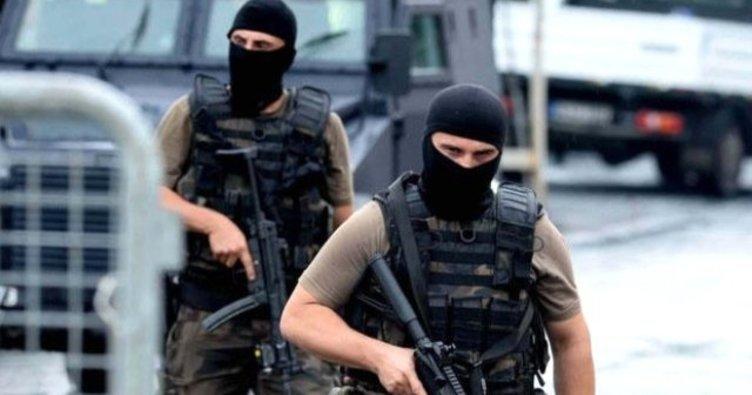 Son dakika:İstanbul'da terör operasyonu