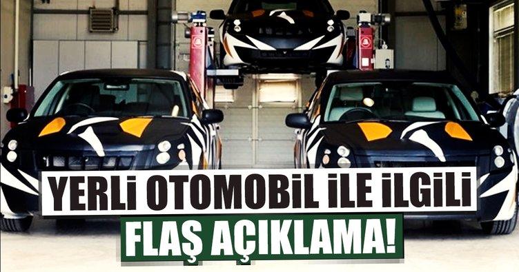 Hükümetten yerli otomobille ilgili açıklama