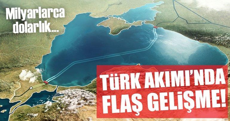 Gazprom'dan Türk Akımı'na 3,2 milyar dolar