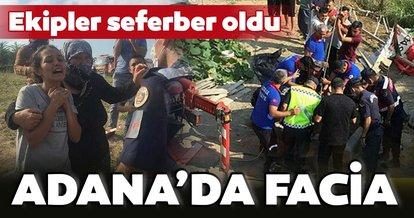 Adana'da facia! Su çıkarmak açtıkları kuyuda mahsur kaldılar