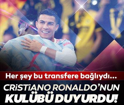 Son dakika: Manchester United duyurdu! Her şey Cristiano Ronaldo transferine bağlıydı...