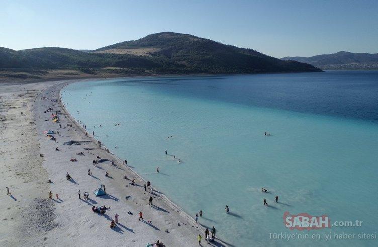 Salda Gölü'ne 1 milyondan fazla ziyaretçi bekleniyor! İşte son günlerin çok konuşulan Salda Gölü...