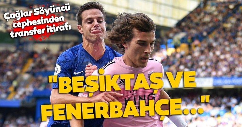 Beşiktaş ve Fenerbahçe Çağlar Söyüncü'yü istedi