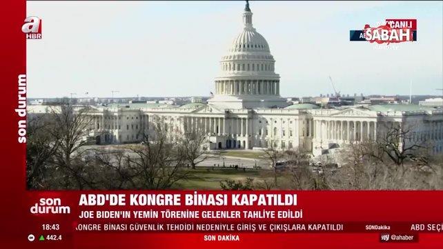 Son dakika: ABD'de hareketli dakikalar! Kongre binası kapatıldı | Video