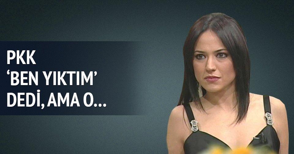 Banu Güven PKK'ya yine laf söyleyemedi