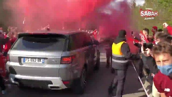 Lille taraftarının Burak Yılmaz çılgınlığı | Video