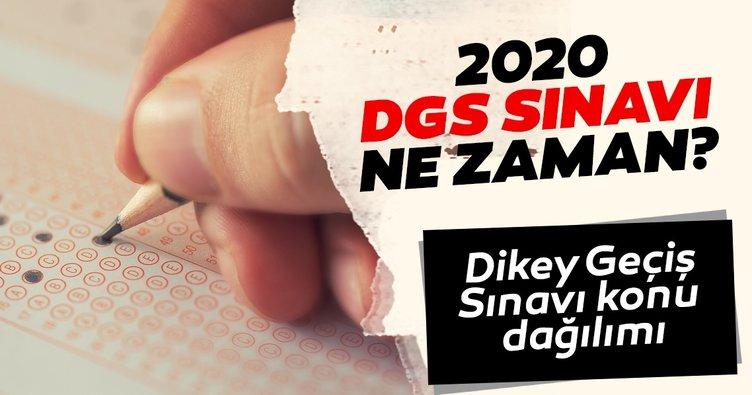 2020 DGS ne zaman, hangi tarihte yapılacak? DGS konu dağılımı belirlendi mi?