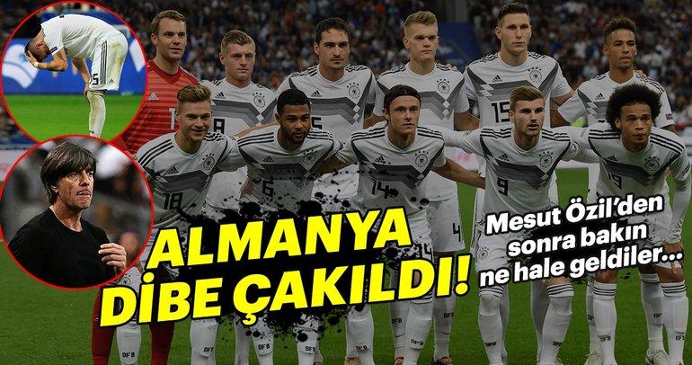 Almanya'ya bir şok daha! Mesut Özil'den sonra dibe vurdular...