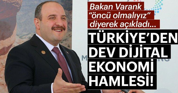 Son dakika: Türkiye'den dev dijital ekonomi hamlesi