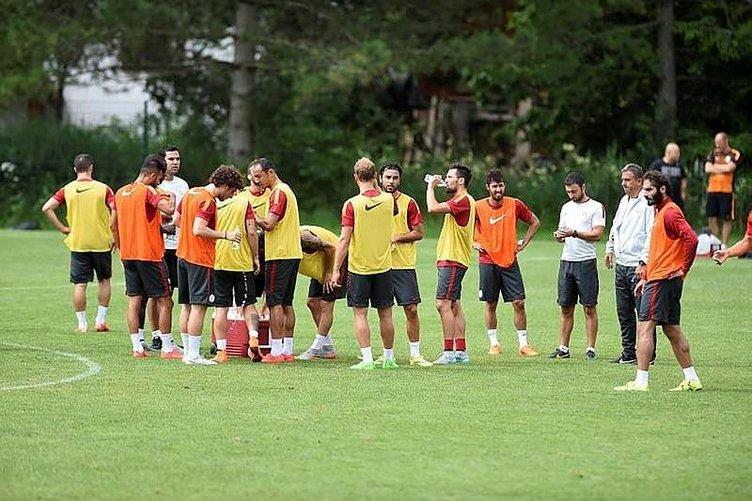 Galatasaray'da 5 futbolcu kadro dışı