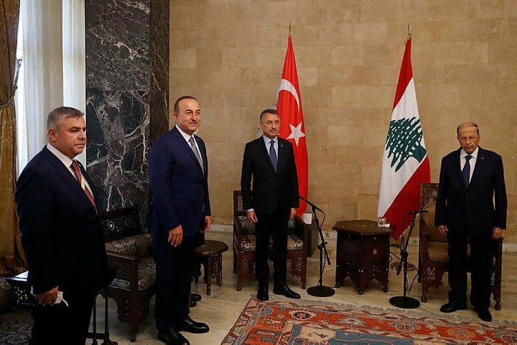 Son dakika: Başkan Erdoğan talimatı vermişti! Lübnan'a çok kritik ziyaret