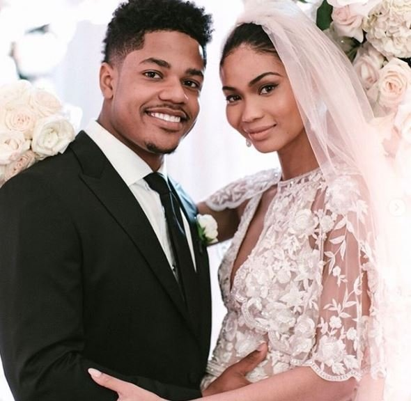 Chanel Iman ve Sterling Shepard evlendi