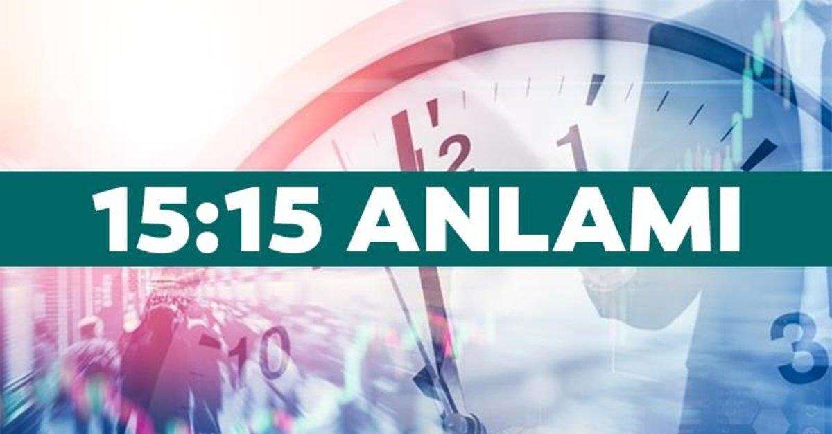 15:15 saat anlamı – 15:15 çift saat anlamı nedir? - En Son Haber