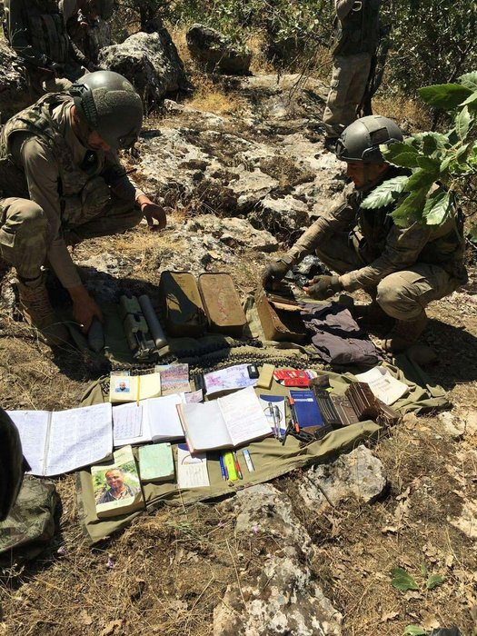 PKK'lı hainler zehir saçıyor!