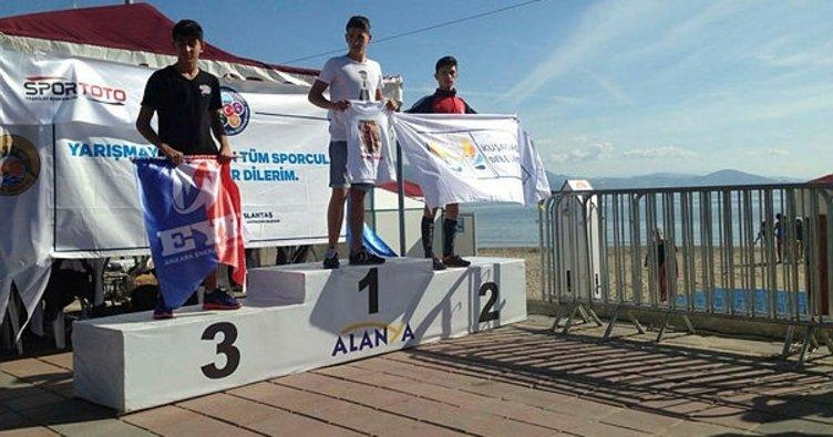 Aydın, Türkiye Biatlon Şampiyonasından madalyalarla döndü