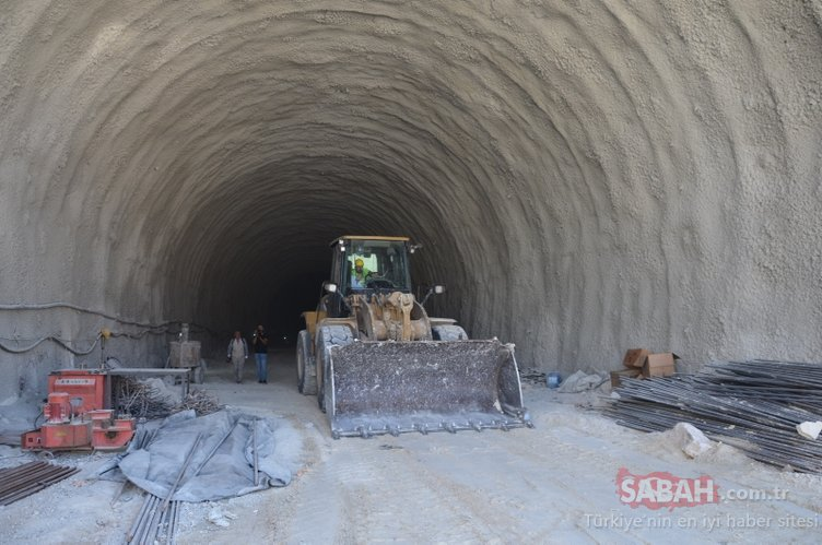 Hasankeyf Tüneli'nde sona yaklaşıldı