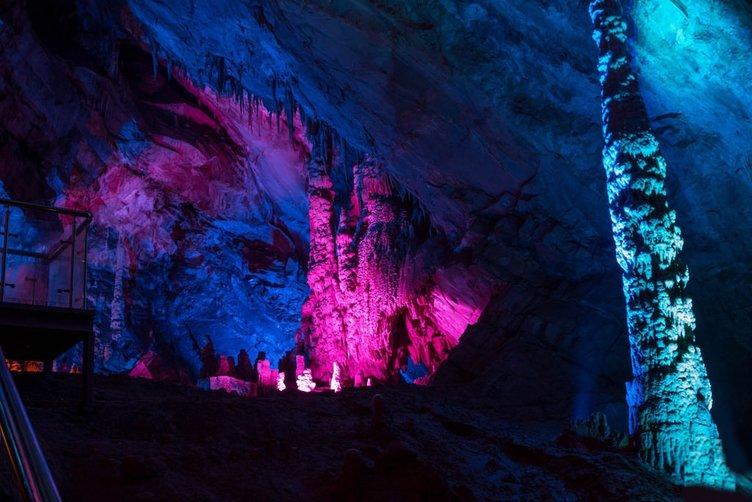 Türkiye'nin en uzun 10. mağarasına ziyaretçi rekoru!