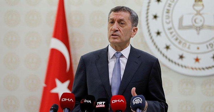 Son dakika haberi: Milli Eğitim Bakanı Ziya Selçuk'un yüz yüze eğitim detaylarını duyurdu! 15 Şubat'ta...