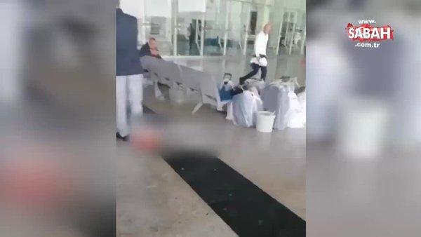 Manisa otogarda yaşlı adama bağıran polis memuru hakkında soruşturma başlatıldı! İşte o görüntüler | Video
