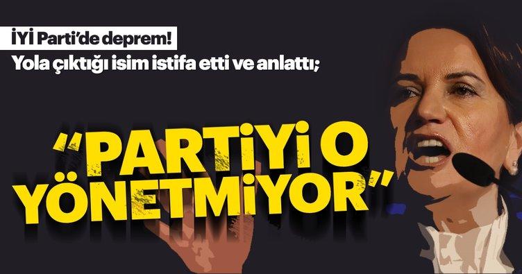 Akşener'in kurucuları istifa etti ve itiraf geldi: Partiyi Meral Akşener yönetmiyor