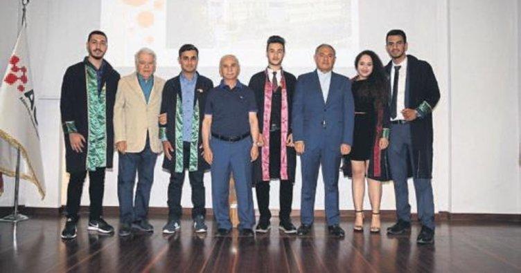 AOSB Teknik Bilimler MYO'dan mezun oldular