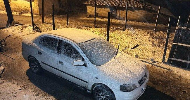 Son dakika: Edirne'de kar yağışı başladı
