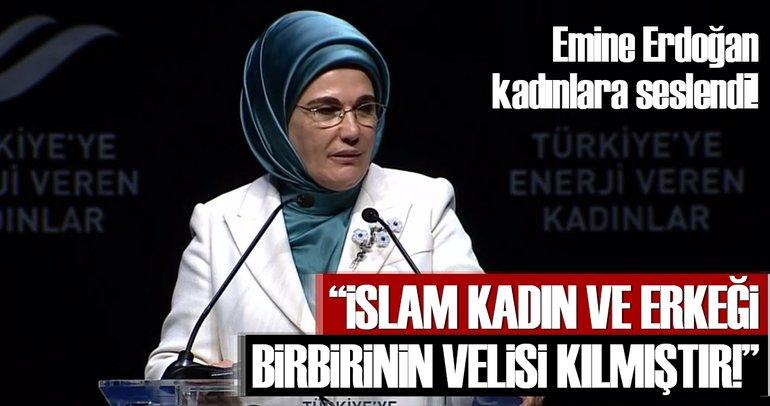 Emine Erdoğan: Kadın ve erkek bir bütünün iki yarısıdır