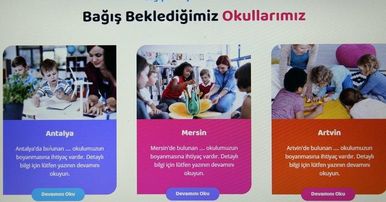 Türkiye'de boyanmadık okul kalmayacak