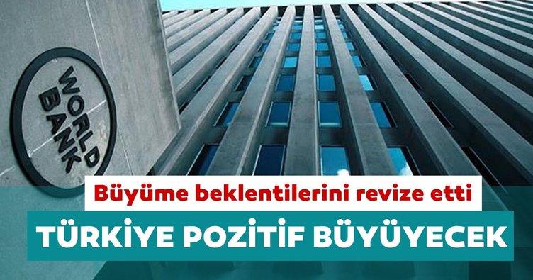 Dünya Bankası büyüme beklentilerini revize etti: Türkiye pozitif büyüyecek