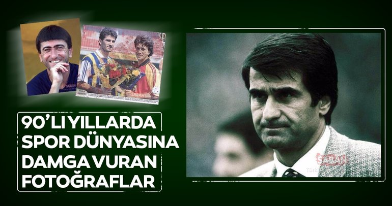 Spor dünyasından 1990'lı yıllara damga vuran fotoğraflar