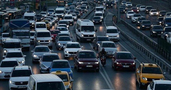 Trafiğe kaydı yapılan taşıt sayısında rekor artış!