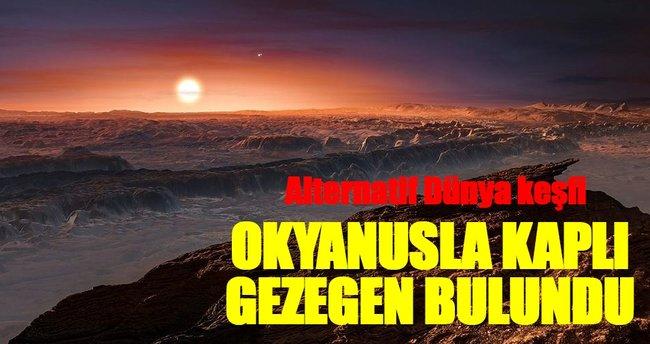 Komşu yıldız sisteminde okyanusla kaplı gezegen