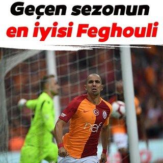 Geçen sezonun en iyisi Feghouli