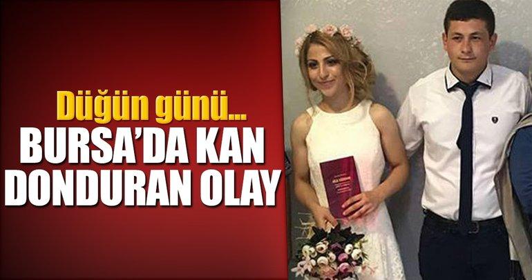 Bursa'da kan donduran olay