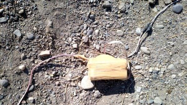 AK Partili Mehdi Eker'in aile mezarlığında 640 kilo patlayıcı bulundu!