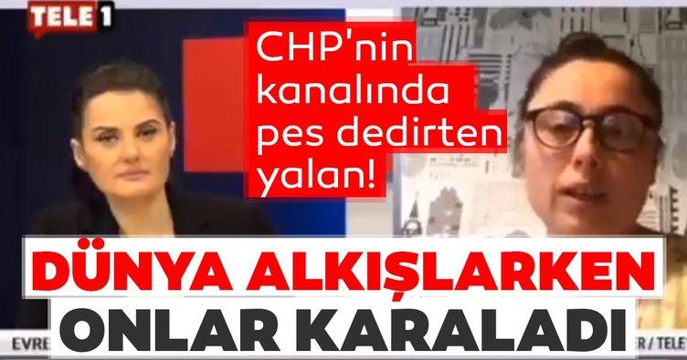 CHP'nin kanalında pes dedirten yalan! Dünya alkışlarken onlar karaladı