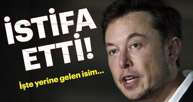 Son dakika: Elon Musk istifa etti! İşte yerine gelen isim...