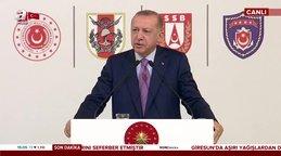 Cumhurbaşkanı Erdoğan'dan Giresun ve Rize'deki sel felaketi hakkında açıklama | Video