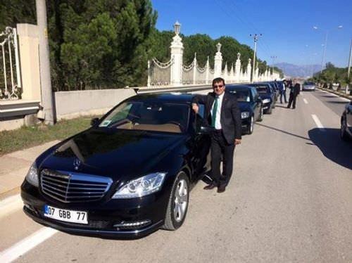 Suudi veliaht prens Antalya'ya böyle geldi